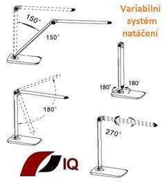 Inteligentní LED stolní lampa IQ-P10