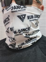 Značkovýsportovní univerzální šátek - nákčník RUN-DANCE